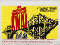 "The Bridge on the River Kwai (Columbia, R-1972). British Quad (30"" X 40""). War"