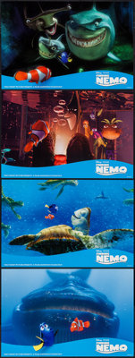 "Finding Nemo & Other Lot (Buena Vista, 2003). Deluxe Lobby Card Set of 8 (11"" X 16.75"") & Delu..."