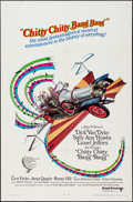 "Movie Posters:Fantasy, Chitty Chitty Bang Bang (United Artists, 1969). One Sheet (27"" X 41""). Fantasy.. ..."