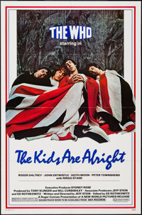 "The Kids Are Alright (New World, 1979). One Sheet (27"" X 41""). Rock and Roll"