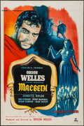 "Movie Posters:Drama, Macbeth (Republic, 1948). One Sheet (27"" X 41""). Drama.. ..."