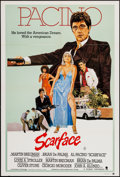 "Movie Posters:Crime, Scarface (Universal, 1983). Australian One Sheet (27"" X 40"").Crime.. ..."