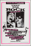 """Movie Posters:Rock and Roll, That Was Rock (American International, 1984). One Sheet (27"""" X41""""). Rock and Roll.. ..."""