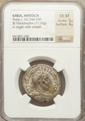 Ancients:Roman Provincial , Ancients: SYRIA. Philip I (AD 244-249). BIL tetradrachm (11.33gm)....