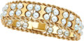 Estate Jewelry:Bracelets, Cultured Pearl, Gold Bracelet. ...