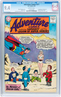 Silver Age (1956-1969):Superhero, Adventure Comics #317 (DC, 1964) CGC NM 9.4 Off-white pages....
