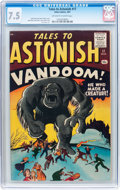 Silver Age (1956-1969):Horror, Tales to Astonish #17 (Atlas, 1961) CGC VF- 7.5 Off-white to whitepages....