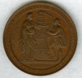 Austria, Austria: Vienna University 500th Anniversary bronze Medal 1865 UNC (Light Scratches),...