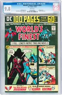 World's Finest Comics #223 (DC, 1974) CGC NM/MT 9.8 White pages