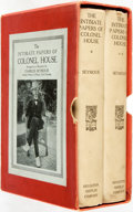 Books:Biography & Memoir, [Edward M. House]. INSCRIBED. Charles Seymour, editor. TheIntimate Papers of Colonel House. Boston: Houghton Miffli...(Total: 2 Items)
