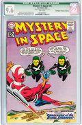 Silver Age (1956-1969):Science Fiction, Mystery in Space #76 Don/Maggie Thompson Collection pedigree (DC,1962) CGC Qualified NM+ 9.6 White pages....