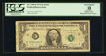 Error Notes:Mismatched Serial Numbers, Fr. 1908-E $1 1974 Federal Reserve Note. PCGS Apparent Very Good 10.. ...