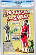 Silver Age (1956-1969):Science Fiction, Mystery in Space #79 Don/Maggie Thompson Collection pedigree (DC,1962) CGC NM 9.4 Off-white to white pages....