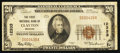 National Bank Notes:Missouri, Clayton, MO - $20 1929 Ty. 1 The First NB Ch. # 12333. ...