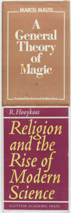 Books:Religion & Theology, [Religion/Science/Magic]. Pair of First Editions on the Topics of Religion, Science and Magic. R. Hooykaas. Religion and... (Total: 2 Items)