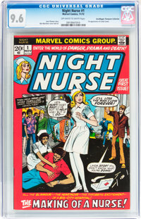Night Nurse #1 Don/Maggie Thompson Collection pedigree (Marvel, 1972) CGC NM+ 9.6 Off-white to white pages