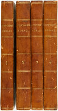 Books:Literature Pre-1900, [Horace]. The Works of Horace, in English Verse, by Mr.Duncombe, Sen. J. Duncombe, M.A. and Other Hands. With Notes His...(Total: 4 Items)