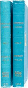 Books:Travels & Voyages, Malcolm Letts. Mandeville's Travels, Vols. I&II. London: The Hakluyt Society, 1953. First edition thus. ... (Total: 2 Items)