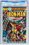 Bronze Age (1970-1979):Superhero, Iron Man Annual #4 Don/Maggie Thompson Collection pedigree (Marvel, 1977) CGC NM+ 9.6 White pages....
