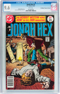 Bronze Age (1970-1979):Western, Jonah Hex #1 Don/Maggie Thompson Collection pedigree (DC, 1977) CGC NM+ 9.6 White pages....
