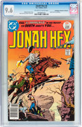 Bronze Age (1970-1979):Western, Jonah Hex #2 Don/Maggie Thompson Collection pedigree (DC, 1977) CGC NM+ 9.6 Off-white to white pages....