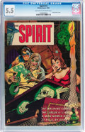 Golden Age (1938-1955):Crime, The Spirit #3 (Fiction House, 1952) CGC FN- 5.5 Light tan to off-white pages....