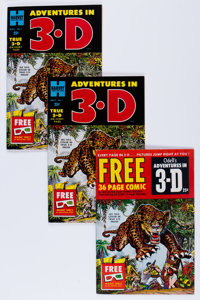 Adventures in 3-D File Copies Group (Harvey, 1953).... (Total: 20 Comic Books)