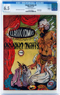Golden Age (1938-1955):Classics Illustrated, Classic Comics #8 Arabian Nights - Original Edition - Rockford pedigree (Gilberton, 1943) CGC FN+ 6.5 Off-white to white pages...