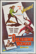 "Movie Posters:Western, The Oklahoma Woman & Others Lot (American Releasing Corp., 1956). One Sheets (3) (27"" X 41""). Western.. ... (Total: 3 Items)"