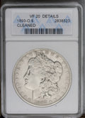 Morgan Dollars: , 1893-O $1 --Cleaned--ANACS. VF30 Details. NGC Census: (78/1289). PCGS Population (18/1751).Mintage: 300,000. Numismedia Wsl...