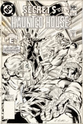 Original Comic Art:Covers, Rich Buckler and Steve Mitchell Secrets of Haunted House #35Cover Original Art Cover (DC, 1981)....