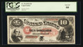 Large Size:Legal Tender Notes, Fr. 99 $10 1878 Legal Tender PCGS Gem New 66.. ...