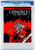 Bronze Age (1970-1979):Alternative/Underground, Cerebus the Aardvark #1 (Aardvark-Vanahem, 1977) CGC FN+ 6.5 Off-white to white pages....