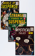 Golden Age (1938-1955):Horror, Atlas Golden and Silver Age Horror Comics Group (Atlas,1955-61).... (Total: 5 Comic Books)