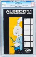 Modern Age (1980-Present):Miscellaneous, Albedo #2 (Thoughts and Images, 1984) CGC NM/MT 9.8 White pages....