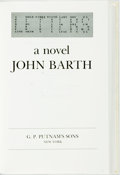 Books:Biography & Memoir, John Barth. SIGNED/LIMITED. Letters. New York: Putnam's,[1979]. First edition, limited to 500 numbered copies. Si...