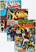 Bronze Age (1970-1979):Superhero, X-Men Group (Marvel, 1977-89) Condition: Average FN.... (Total: 97 Comic Books)