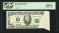 Error Notes:Foldovers, Fr. 2081-B $20 1995 Federal Reserve Note. PCGS Extremely Fine40PPQ.. ...