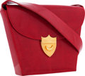 "Luxury Accessories:Bags, Paloma Picasso Red Lizard Shoulder Bag. Very Good Condition.9.5"" Width x 7"" Height x 2.25"" Depth. CITEScomplia..."