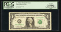 Error Notes:Mismatched Serial Numbers, Fr. 1919-G $1 1993 Federal Reserve Note. PCGS Very Fine 25PPQ.. ...