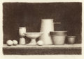 Fine Art - Work on Paper:Print, WILLIAM H. BAILEY (American, b. 1930). Untitled (Still Life) No. 4, 1976. Lithograph. 13-3/4 x 19-3/4 inches (34.9 x 50....