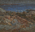 Fine Art - Work on Paper:Drawing, CHARLES SALIS KAELIN (American, 1858-1929). Seacoast IV.Pastel on paper. 14-3/4 x 16 inches (37.5 x 40.6 cm). ...