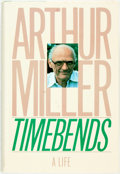 Books:Biography & Memoir, Arthur Miller. Timebends. New York: Grove Press, [1987]. First trade edition. Publisher's binding and original dust ...