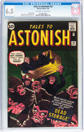Silver Age (1956-1969):Horror, Tales to Astonish #33 (Marvel, 1962) CGC FN+ 6.5 Off-white to whitepages....