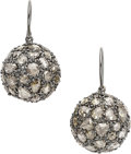 Estate Jewelry:Earrings, Diamond, Gold Earrings, Lorraine Schwartz. ...