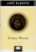 Books:Biography & Memoir, Larry McMurtry. SIGNED. Crazy Horse. New York: VikingPenguin, [1999]. First edition. Signed by the author. Publ...