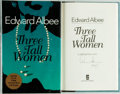 Books:Literature 1900-up, Edward Albee. SIGNED. Three Tall Women. A Play in TwoActs. Dutton, [1995]. First edition. Signed by the autho...