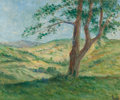 Fine Art - Painting, European:Modern  (1900 1949)  , MAXIMILIEN LUCE (French, 1858-1941). Les collines aux environsde Rolleboise, circa 1930-1935. Oil on canvas. 15 x 18-1/...