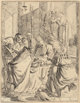 REMBRANDT VAN RIJN (Dutch, 1606-1669) The Circumcision, circa 1626 Etching 8-3/8 x 6-1/2 inches (21.4 x 16.5 cm) (pla