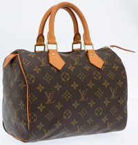 Louis Vuitton Classic Monogram Speedy 25 Bag